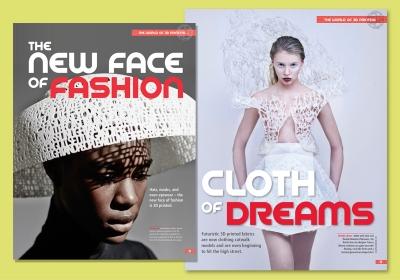 3D Create & Print magazine design pages