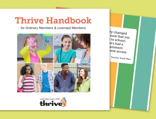 Thrive – Design Projects
