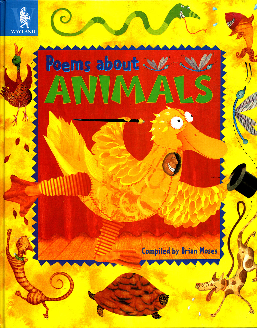 Poems about Animals book cover design