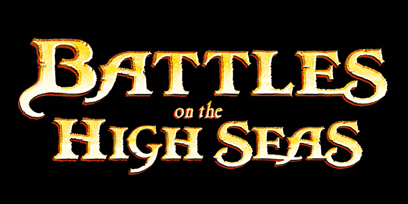 Logo artwork for Battles of the High Seas