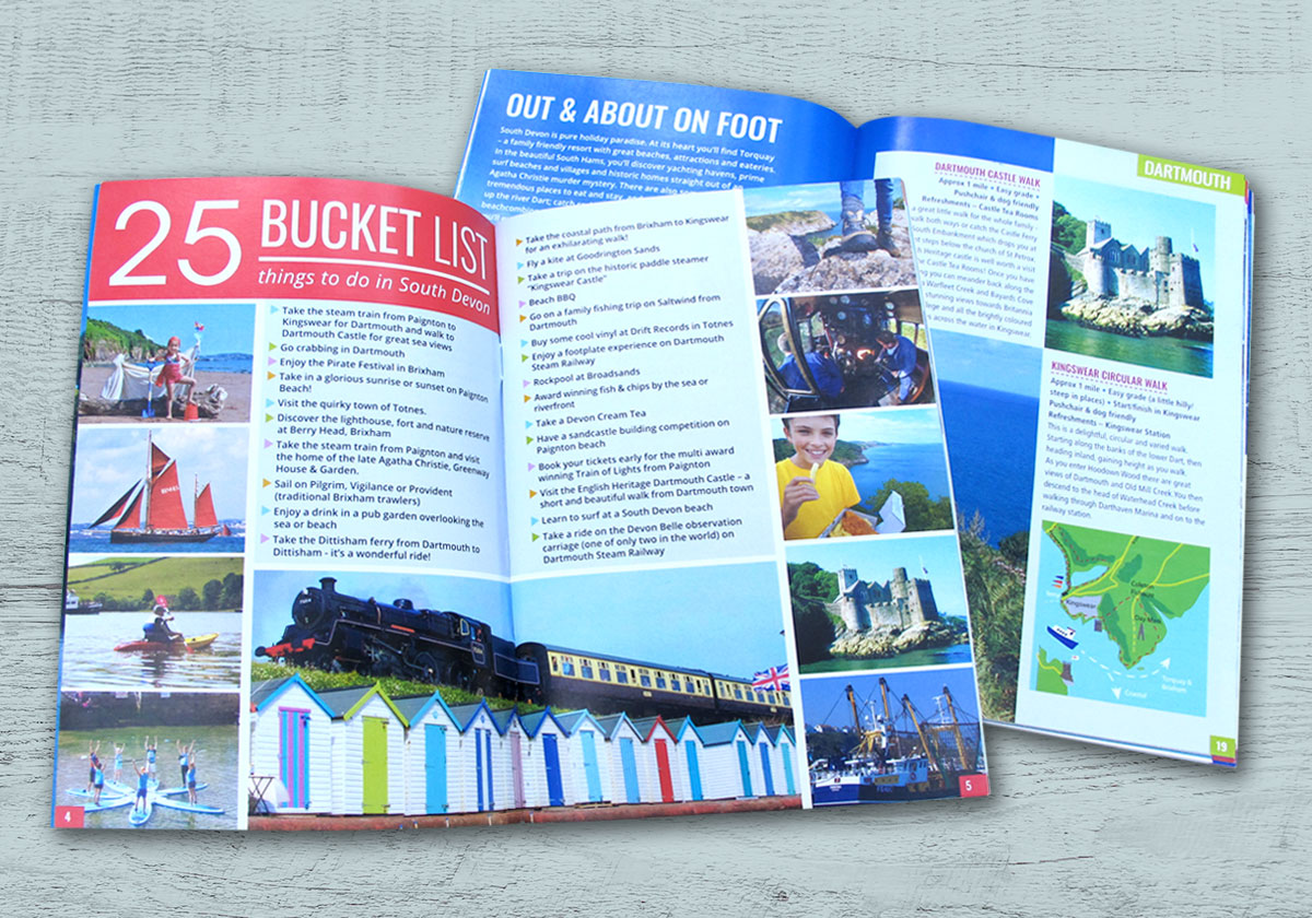 Discover South Devon Brochure Pages
