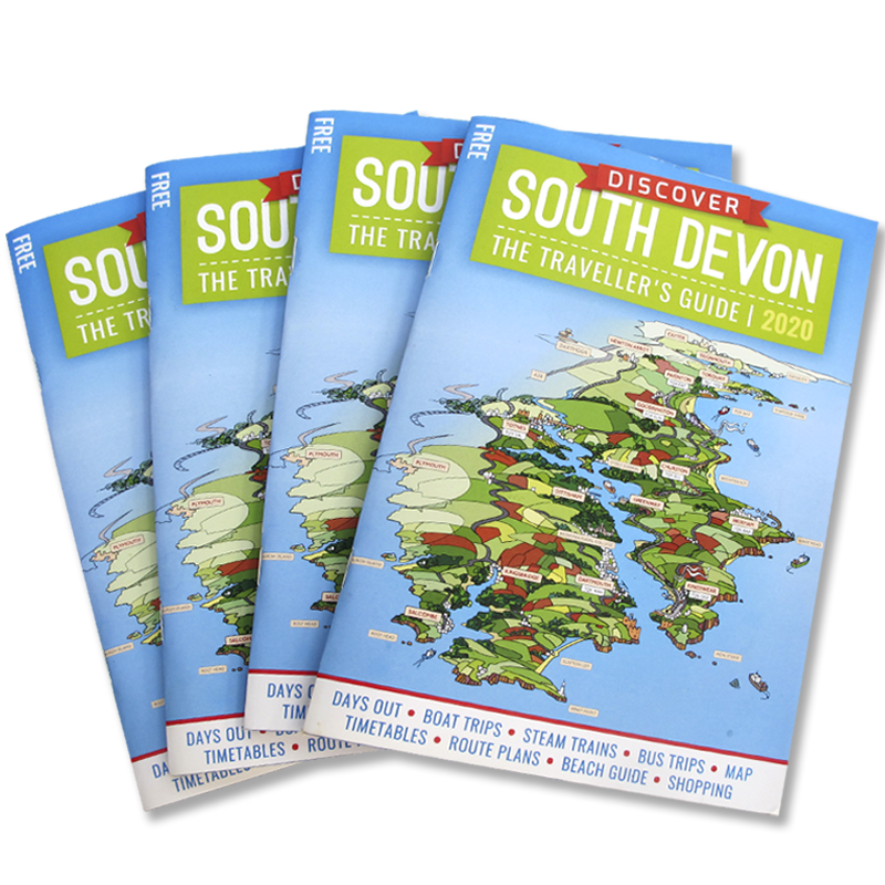 Discover South Devon Tourist Guide / Brochure Covers