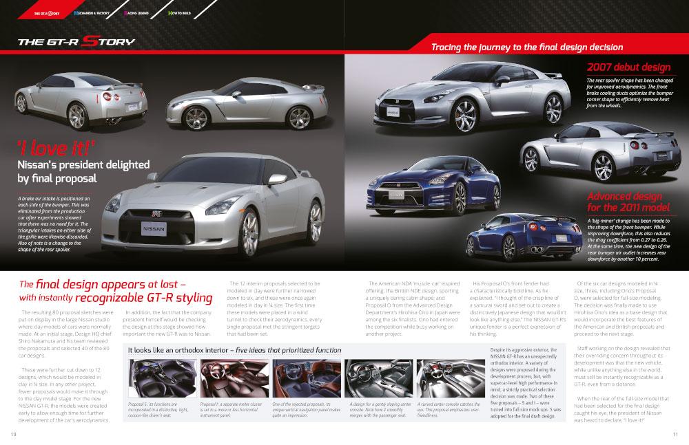 Design of magazine layout
