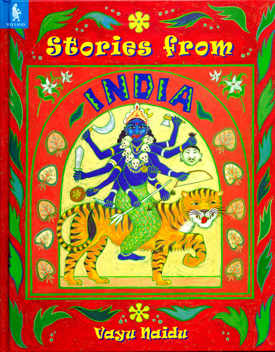 Stories from India book cover design