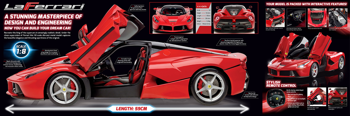 Brand creation for La Ferrari