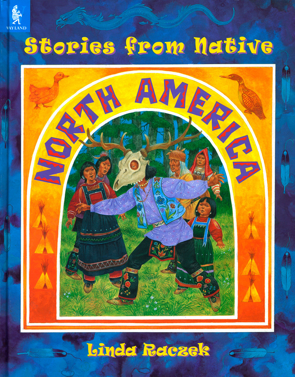 Stories from Native North America book cover design
