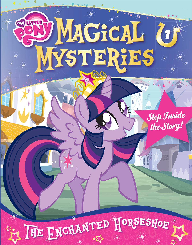 Magical Mysteries Sticker sticker book design
