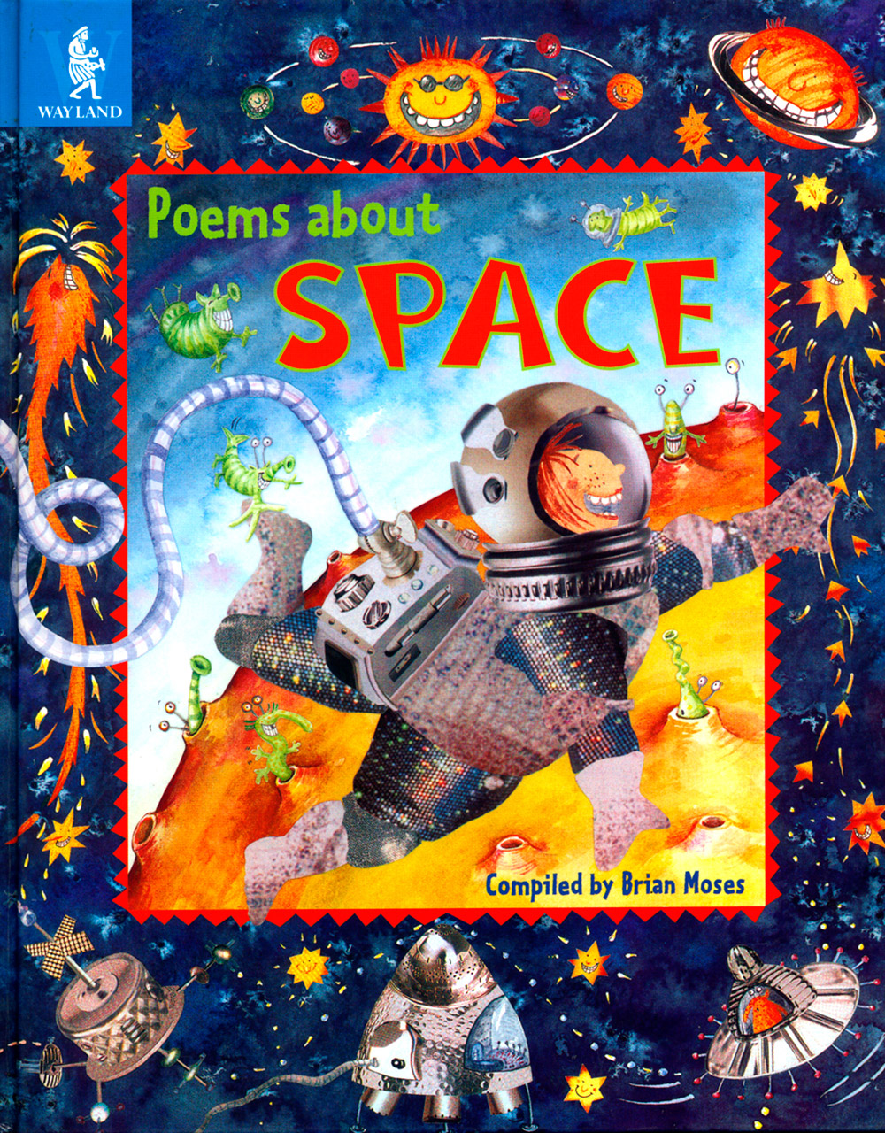 Poems about Space book cover design