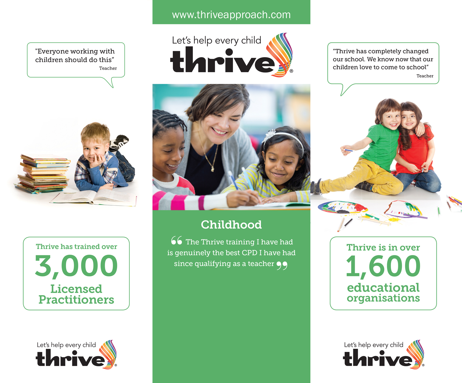 Thrive Exhibition Stands design