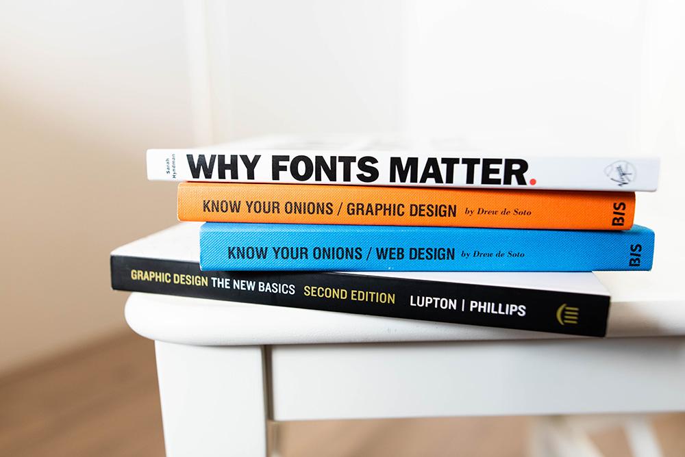 Book cover picture for blog Graphic Design Dartmouth